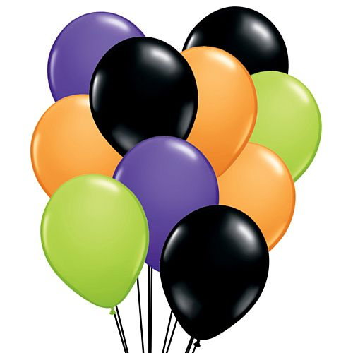 "Halloween Mix 12"" Latex Balloons- Pack of 40"