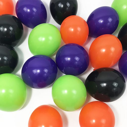 "Halloween Mix Scatter Balloon Pack - 5"" - Pack of 20"
