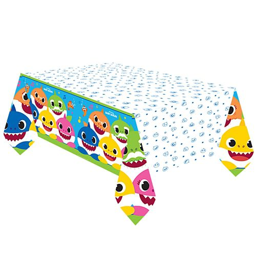 Baby Shark Paper Tablecover - 2.6m