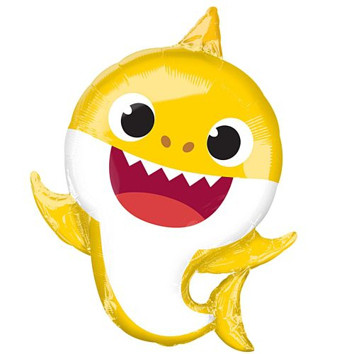 Baby Shark SuperShape Foil Balloon - 26""