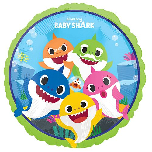Baby Shark Foil Balloon - 18""