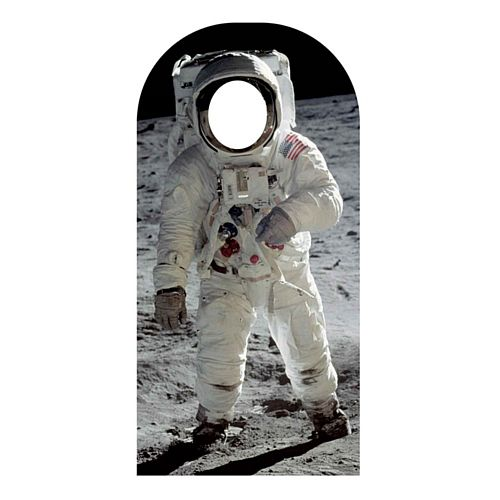 Buzz Aldrin Man On The Moon Astronaut Stand-In Photo Prop - 1.94m