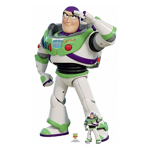 Buzz Lightyear Toy Story 4 Cardboard Cutout - 1.29m