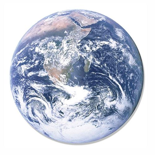 Planet Earth Cardboard Cutout Wall Decoration - 66cm