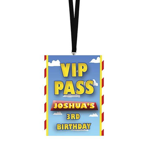 Personalised Lanyard - Toys - Pack of 8
