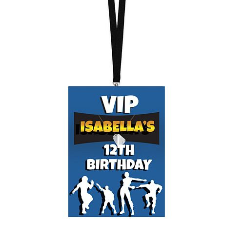 Personalised Lanyards - Battle Royale - Pack of 8
