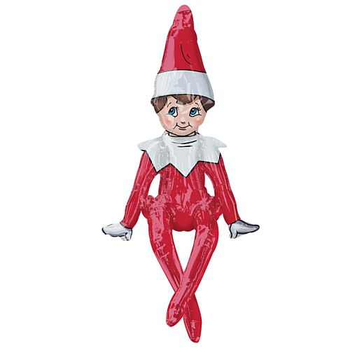 The Elf on the Shelf Sitting 3D Foil Balloon - 29""