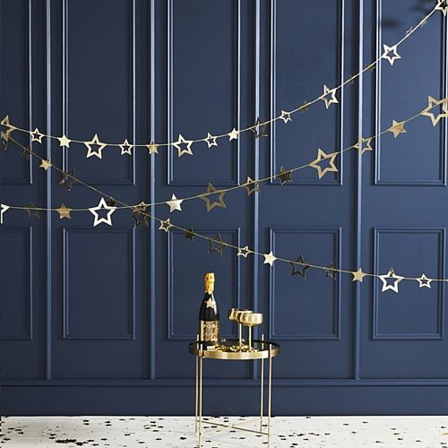 Gold Star Garland - 5m