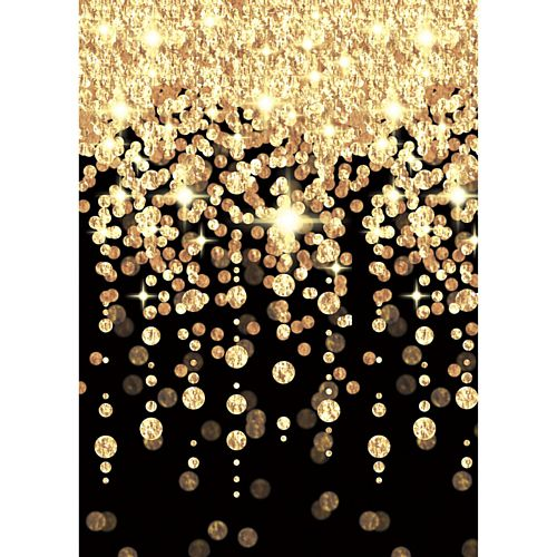Hollywood Cascading Lights Scene Setter Backdrop - 1.21m x 12.2m