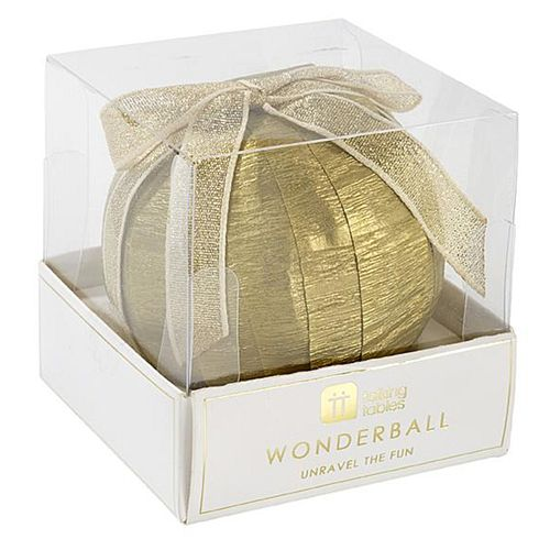 Gold Wonderball Party Game