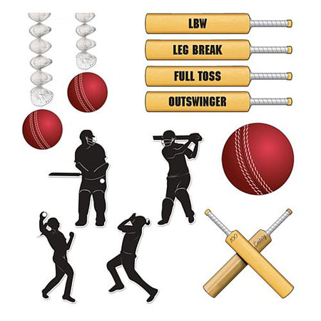 Cricket Decoration Party Pack