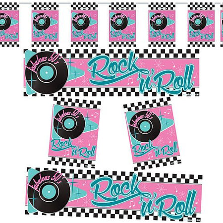 50's Rock and Roll Decoration Pack
