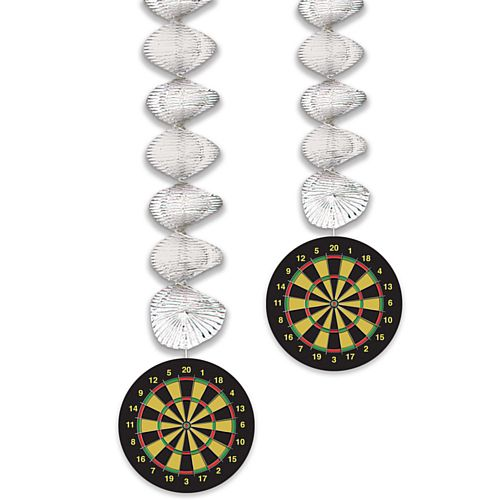 Dartboard Danglers - 76cm - Pack of 2