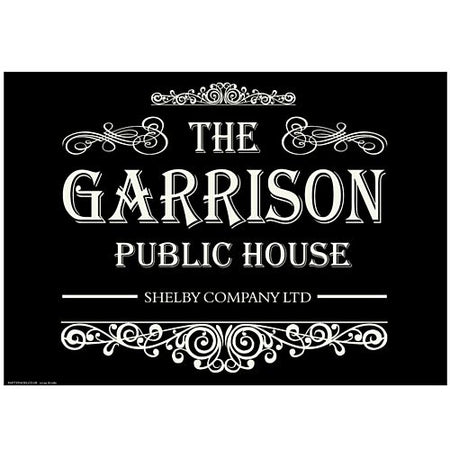 The Garrison Pub Poster - A3