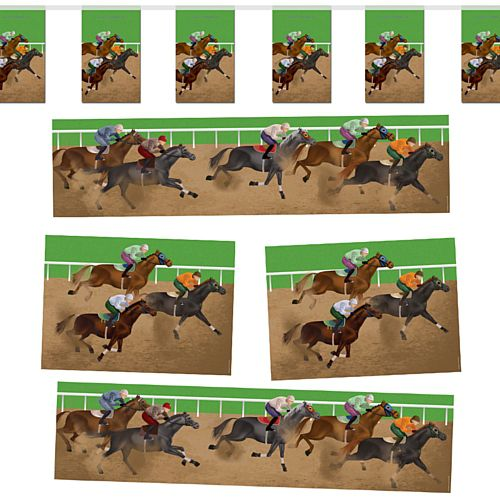 Horse Racing Decoration Party Pack