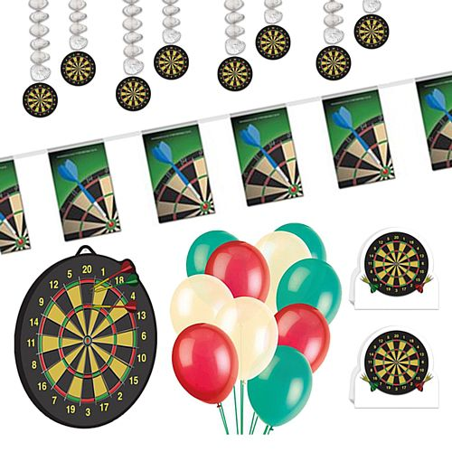 Darts Decoration Party Pack