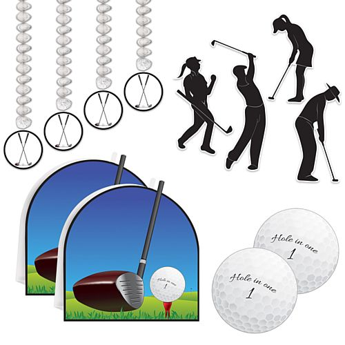 Golf Decoration Party Pack