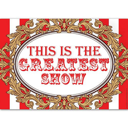 The Greatest Showman Circus Wall Poster Decoration - A3