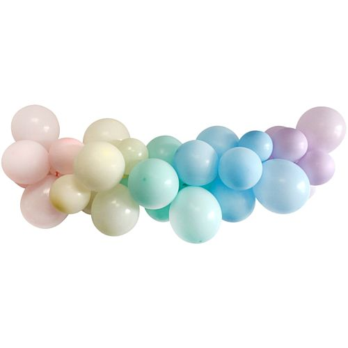 Pastel Rainbow Balloon Arch DIY Kit - 2.5m