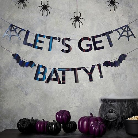 Let's Get Batty Halloween Bunting - 2.5m