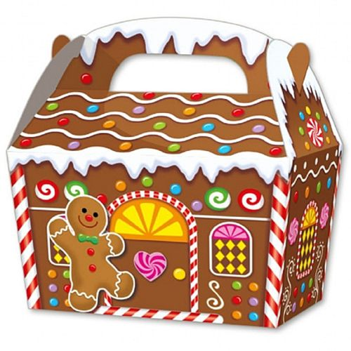 Gingerbread House Party Box - Pack of 10