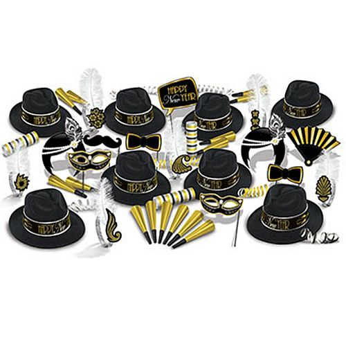 The Great 1920s New Year Hat and Novelty Party Pack for 50 People