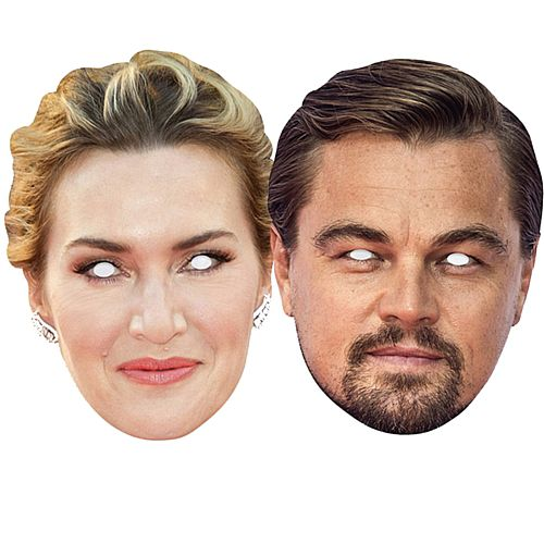 Jack and Rose Titanic Card Mask Pack