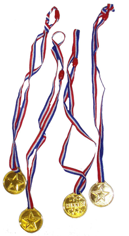 Winner Medal With Neck Ribbon