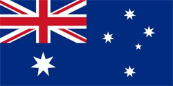 Australian Polyester Fabric Flag 5ft x 3ft
