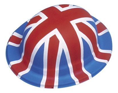British Union Jack Bowler Hat