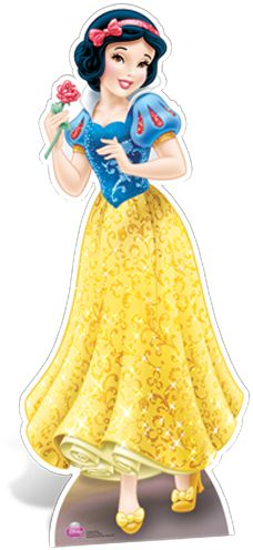 Disney Snow White Cardboard Cutout - 1.68m