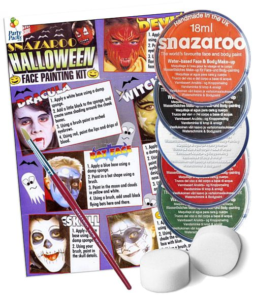 Hallowe'en Face Painting kit