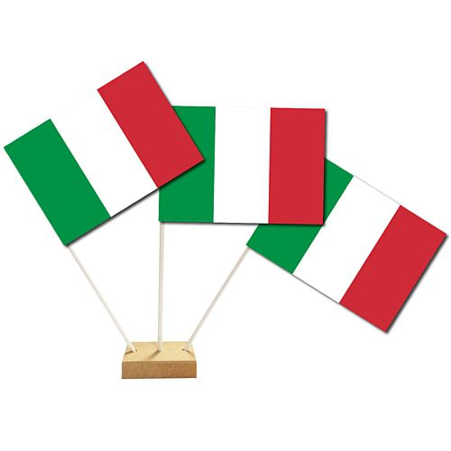 "Italian Table Flags 6"" on 10"" Pole"