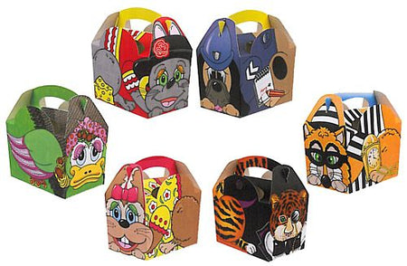 Animal Party Box - Each