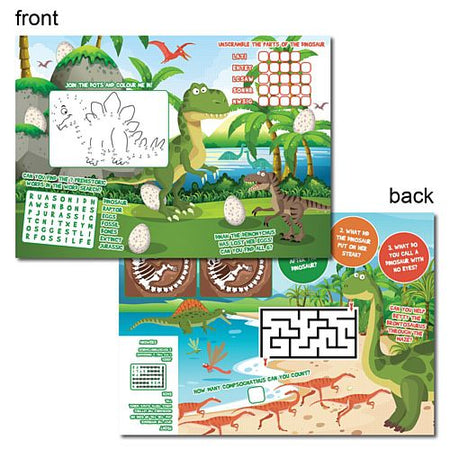 Dinosaur Activity Sheet - Per Sheet