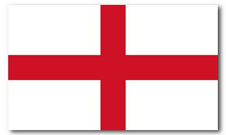 England St George's Polyester Fabric Flag 5ft x 3ft