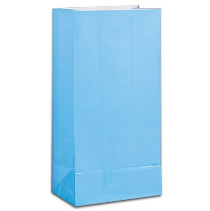Light Blue Party Bags - Pack of 12