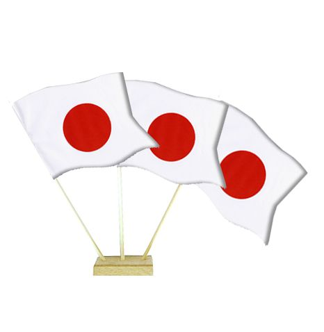 "Japanese Table Flags 6"" on 10"" Pole"