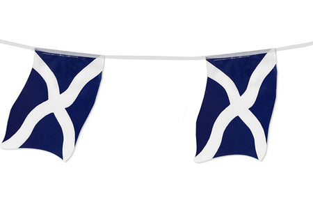 St Andrew's Large Flag Bunting 4m