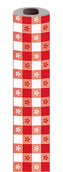 Red Gingham Table Roll - 30.5m x 1m