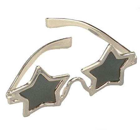Silver Star Shaped Glasses