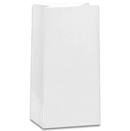 White Party Bags - Pack of 12