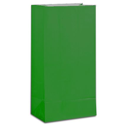 Green Party Bags - Pack of 12