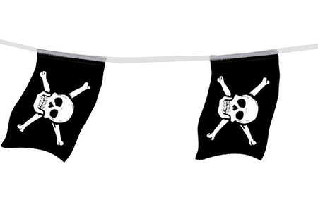 Pirate Large Paper Flag Bunting - 4m