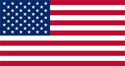 American Cloth Flag - 1.5m