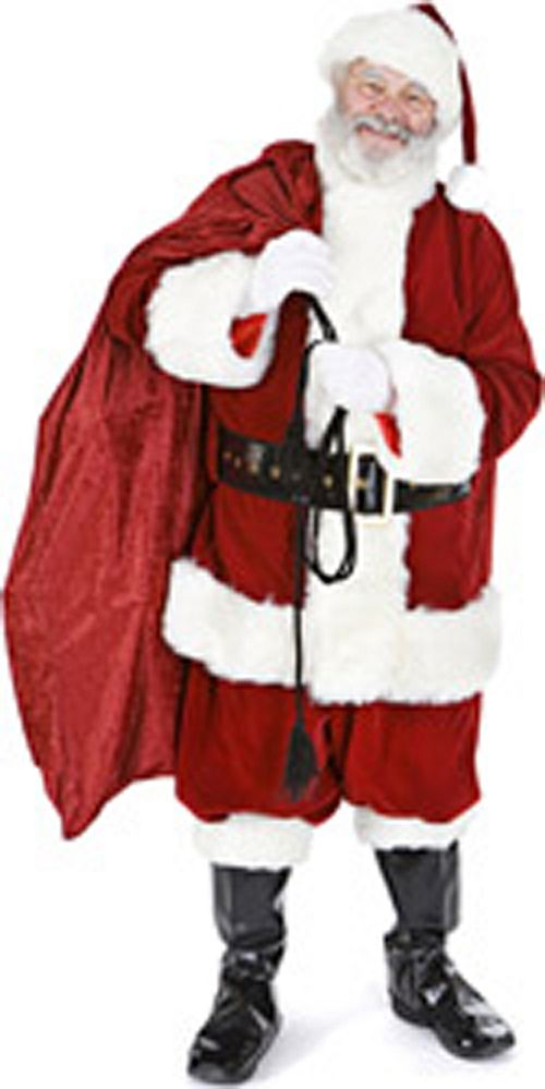 Santa Claus With Sack Lifesize Cardboard Cutout - 1.8m