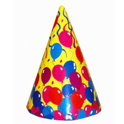 Cone Hats Balloon Design - Each