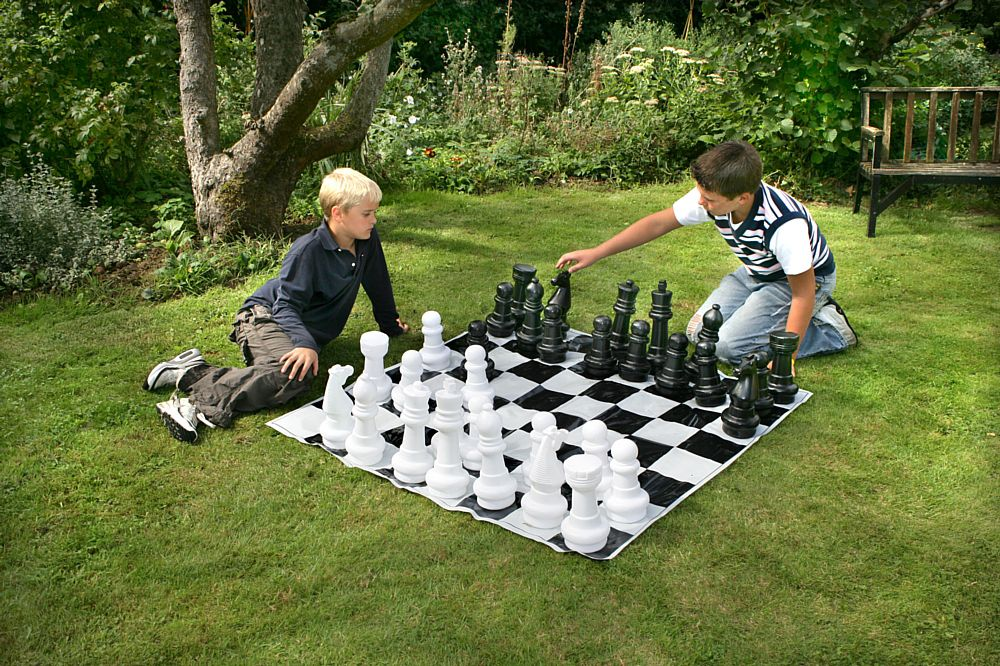 Large Outdoor Chess Set