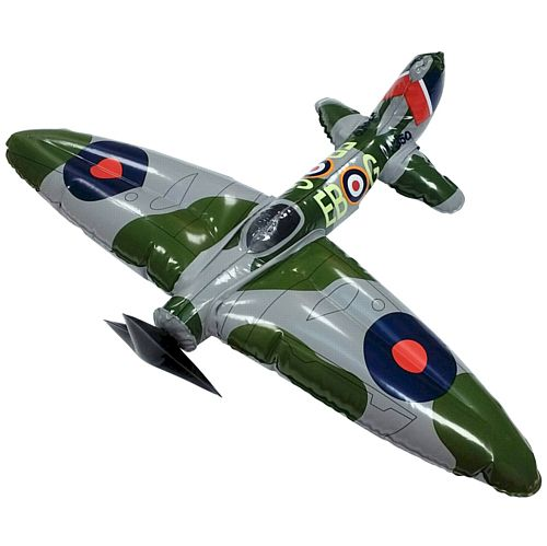 Inflatable Spitfire Aeroplane - 55cm