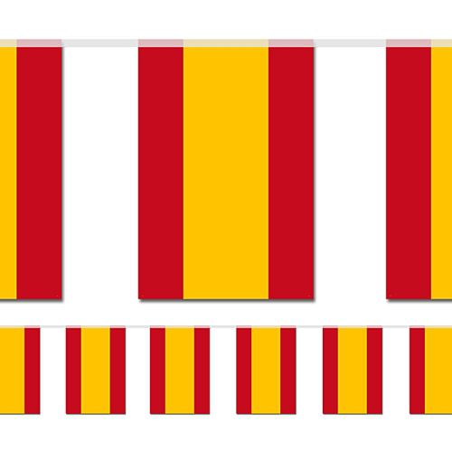 Spanish Large Flag Bunting - 4m